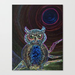 Evening Watchman Canvas Print