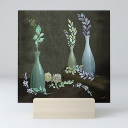 The Gracefulness of Leaves Mini Art Print