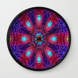 Peacock Mandala... Wall Clock