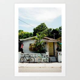 A Home In Key West. Art Print
