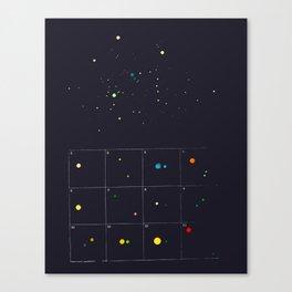 Seeking a new fiction Canvas Print