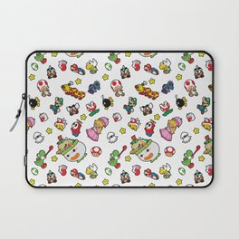 It's a really SUPER Mario pattern! Laptop Sleeve