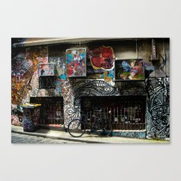 Commissioned Canvas Print