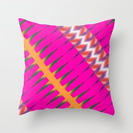 Play of colors Throw Pillow