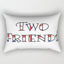 Two Friends Rectangular Pillow