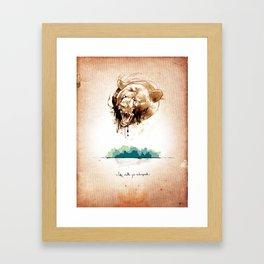 3 of 3 triptych print series Framed Art Print