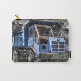Old Tipper Truck Carry-All Pouch