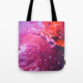 Koi in colourful pond Tote Bag