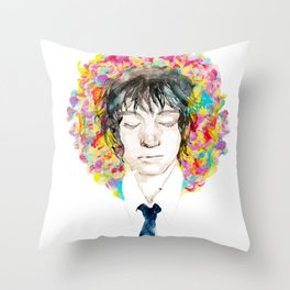 Flowering substantial on The Lover   Throw Pillow