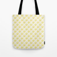 sunshine Tote Bags featuring Sunshine by Leah Flores