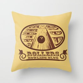 Medina Sod Bowling Club (Big Lebowski) Throw Pillow