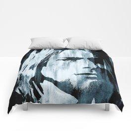 Kurt# Cobain#Nirvana Comforters