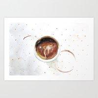 Cup O Chinos  Art Print
