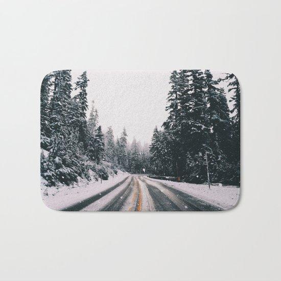 Winter Drive Bath Mat