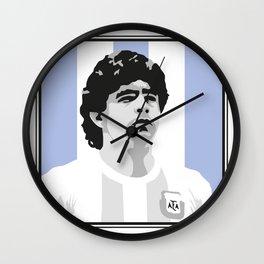 Maradona Wall Clock