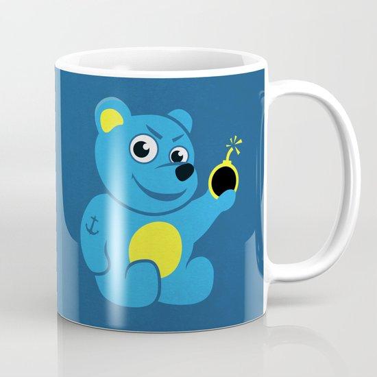 Evil Tattooed Teddy Bear Mug