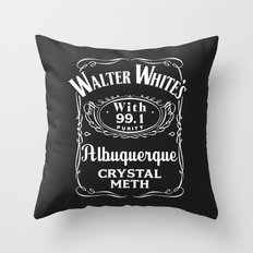 Walter White Pure Crystal Meth. Throw Pillow