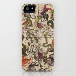Keller's Harmonia Macrocosmica - Southern Celestial Hemisphere 1708 iPhone Case