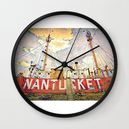 Nantucket Lifeboat, Boston, USA Wall Clock