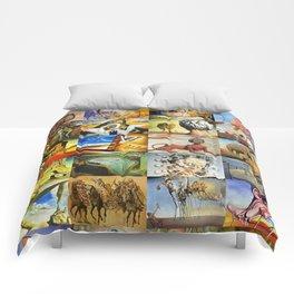 Salvador Dali Comforters