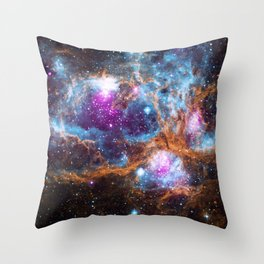 Nebula | Universe | Galaxies | Goddess | God | Stardust Throw Pillow