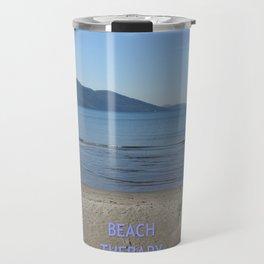 Beach Therapy Travel Mug