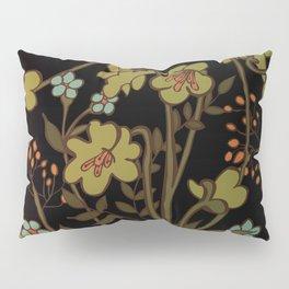 olive flowers Pillow Sham