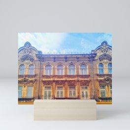 Beautiful architecture in Krakow Mini Art Print