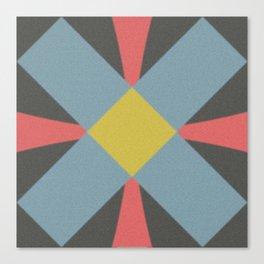 Blue gray Canvas Print