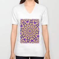 holographic V-neck T-shirts featuring Movement of Change Anya by BohemianBound
