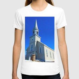 Coastal Curch in Tourelle T-shirt