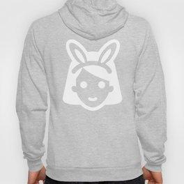 bunny ear girl emoji Hoody