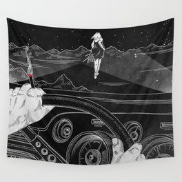 Run Wall Tapestry