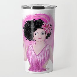 Ben DeLaCreme Pink Fantasy Travel Mug