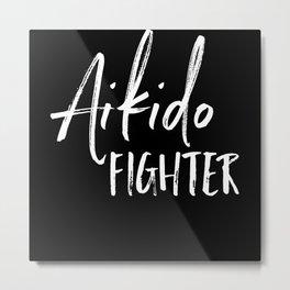 Aikido Martial Arts Metal Print