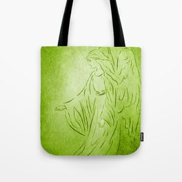 Angel of Healing - Abstract Angel Picture Tote Bag