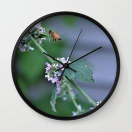 Pollinator Wall Clock