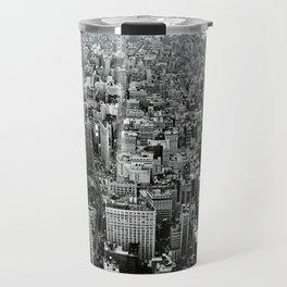 NEW YORK CITY # Black&White Travel Mug