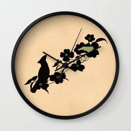 North Carolina - State Papercut Print Wall Clock