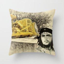 Dozer of the Revolution Throw Pillow