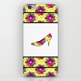 Never Enough Shoes iPhone Skin