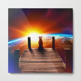 The Lone Companion Metal Print