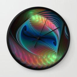 elegant flames -10- Wall Clock