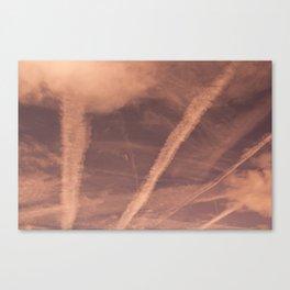 Pink Vapour Canvas Print