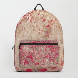 Fields of poppies Backpack