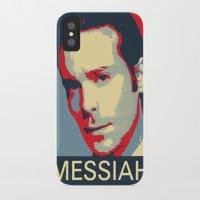 battlestar galactica iPhone & iPod Cases featuring Baltar 'Messiah' design. Inspired by Battlestar Galactica. by hypergeek