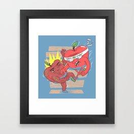 Eat this ! Framed Art Print