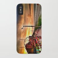 boardwalk empire iPhone & iPod Cases featuring Boardwalk  by Justin Alan Casey