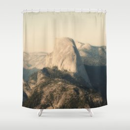 Half Dome IX Shower Curtain