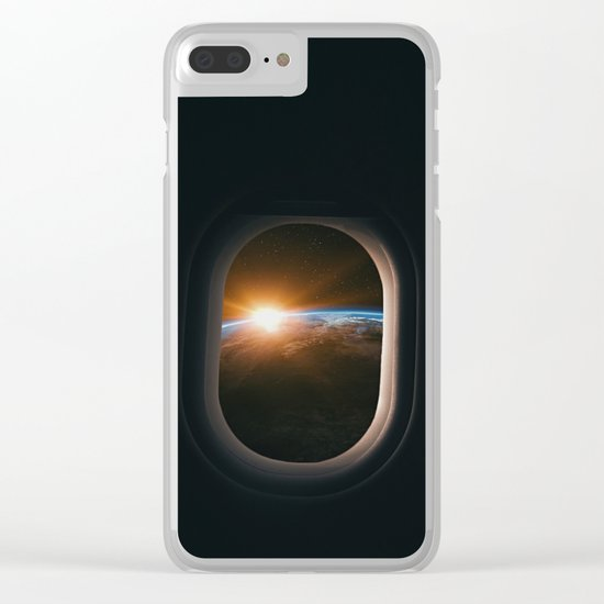 Homesick Clear iPhone Case